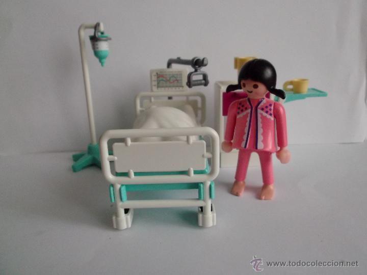 PLAYMOBIL BAT CAMA DE HOSPITAL REF.3980