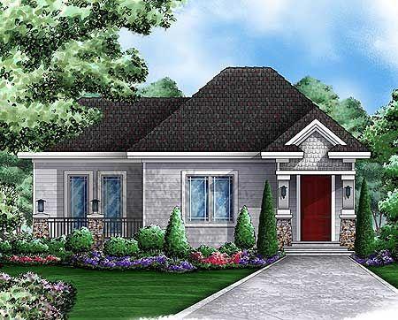 Plan 66262we quaint cottage guest house house plans for Cottage guest house plans