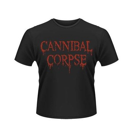 Tricou Cannibal Corpse: Logo - 25 Years