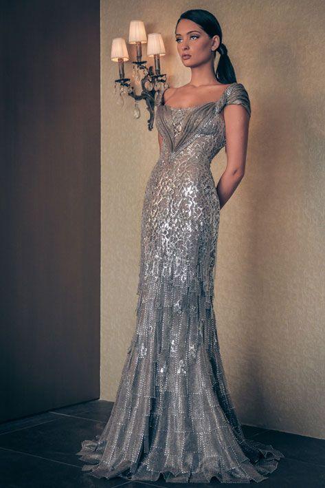 Silver Evening Dresses