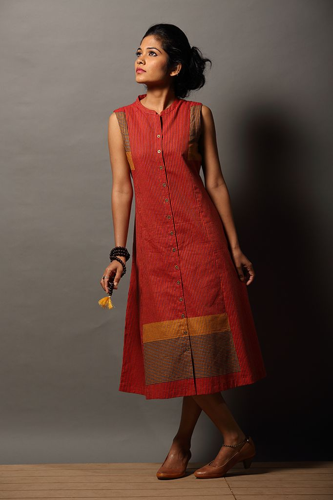 Puli ` Button-down Dress – Seamstress