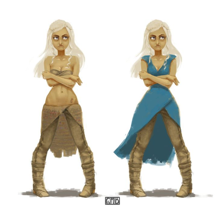 Daenerys Targaryen by Grib-nyashka.deviantart.com on @DeviantArt