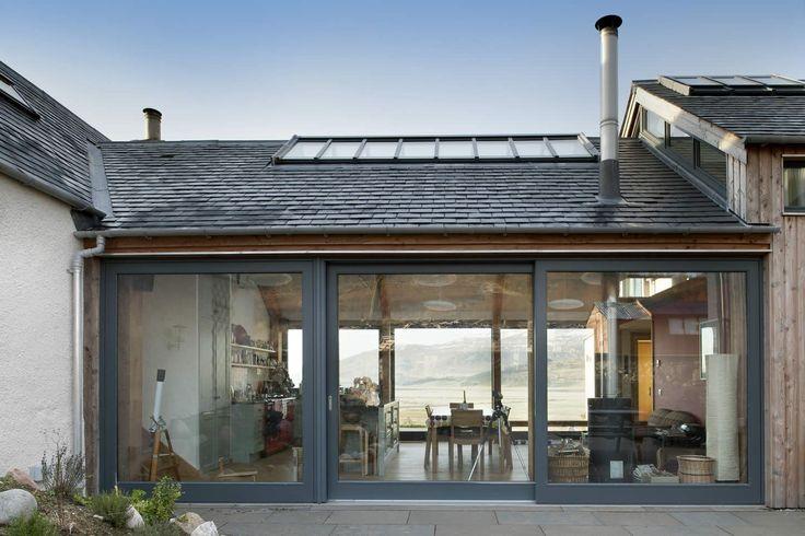 Helen Lucas Architects Edinburgh | project | shepherds cottage extension | living spaces