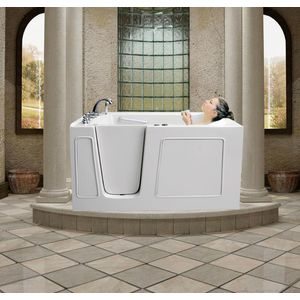 meditub 30 x 60 x 38 in walk in tub series