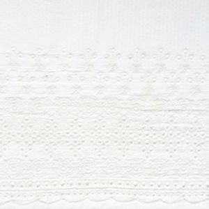 Tissu à frise broderie anglaise Henry & Henriette