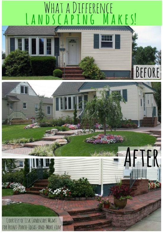 Best 25 front yard landscape design ideas on pinterest for Amazing front yard landscaping