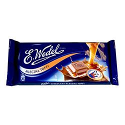 Wedel Milk Chocolate Bar with Toffee Filling (100g)