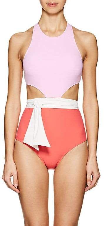 d0bd830853a Flagpole Swim Women's Lynn One-Piece Swimsuit With Sash   Swimsuit ...