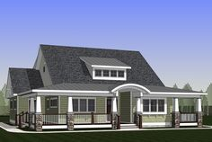 Exclusive 3 Bed Home Plan with Wraparound Porch - 18284BE   Country, Craftsman, Traditional, Exclusive, 1st Floor Master Suite, CAD Available, Den-Office-Library-Study, MBR Sitting Area, PDF, Wrap Around Porch   Architectural Designs