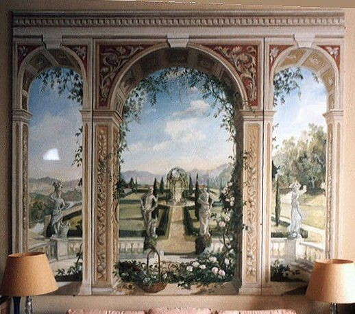 mural panels by michael dillon murals pinterest michael o 39 keefe and murals. Black Bedroom Furniture Sets. Home Design Ideas