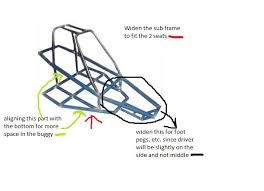 how to make a dune buggy frame