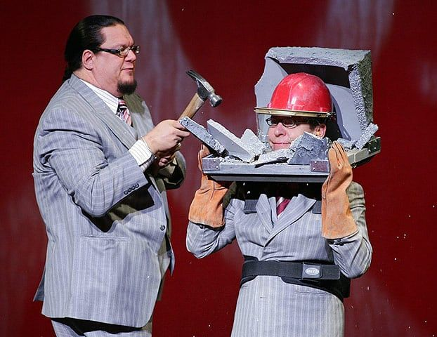 The 10 best magicians: Penn and Teller - Having morphed from showmen into impassioned social commentators exploring such issues as America's war on drugs, the duo are at the forefront of the intersection between science and magic. Their outspoken support of rational thinking informed their well-received Showtime series, Bullshit!, which challenged pseudoscience and the paranormal, took on false advertising claims and generally exposed nonsense in all its forms.