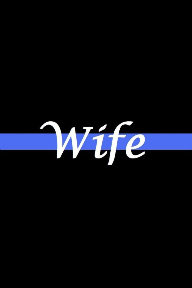 Police wife life :)                                                                                                                                                                                 More