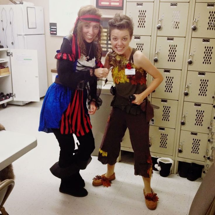 Fun at work on Halloween 2015 as Peter Pan. A few managers were pirates 😂