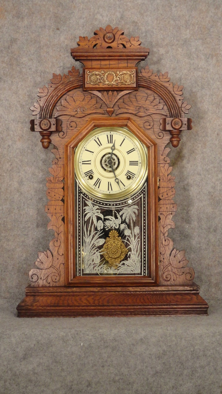 """DUCAT"" SHELF CLOCK MADE BY THE INGRAHAM CLOCK CO. IN BRISTOL, CT, CIRCA 1890-1895"