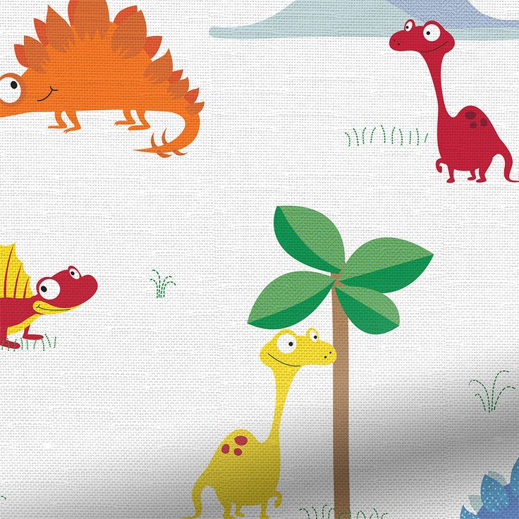 Roar! We're quite sure every young boy loves dinosaurs and we're quite convinced they'll love having this Little Monsters blind at their window.