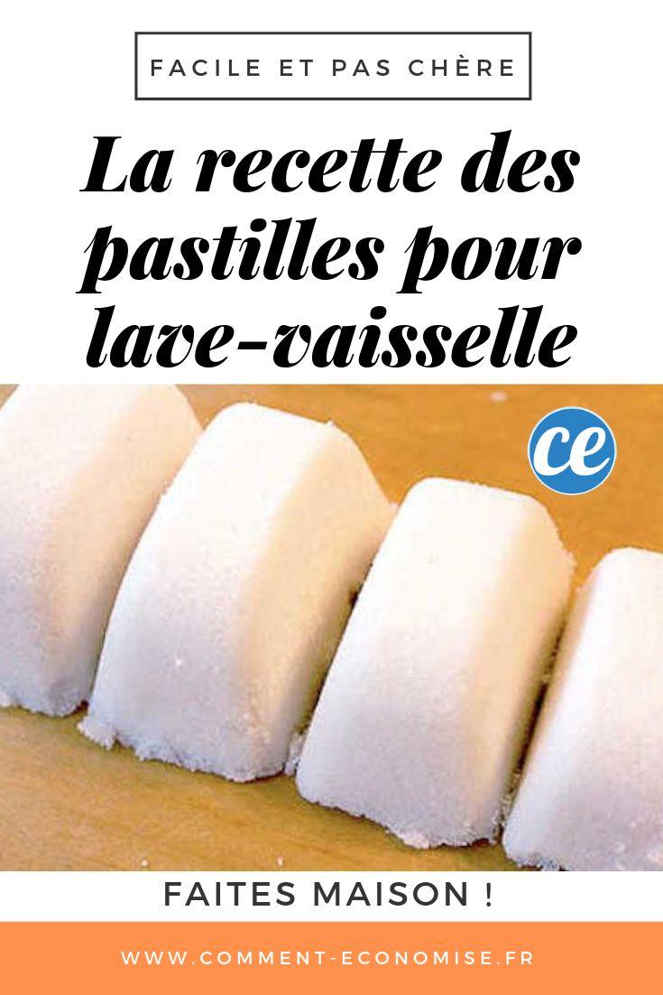 Facile et Pas Chère : Los angeles Recette Maison des Pastilles de Lave-Vaisselle.
