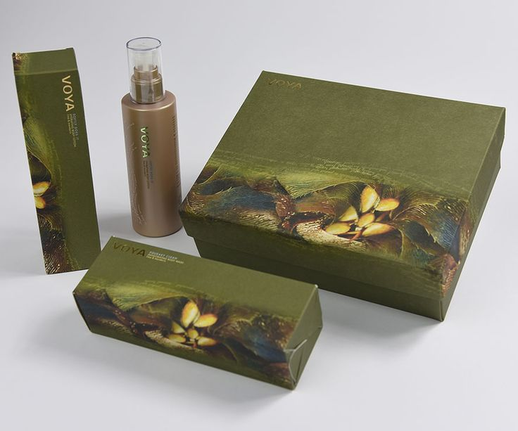 The beauty regime that cares for the #environment: #organic #beauty products from the sea @VOYAbeauty #Packaging made with Shiro #AlgaCarta seaweed paper by Favini - Find more on Shiro http://www.favini.com/gs/en/fine-papers/shiro/features-applications/