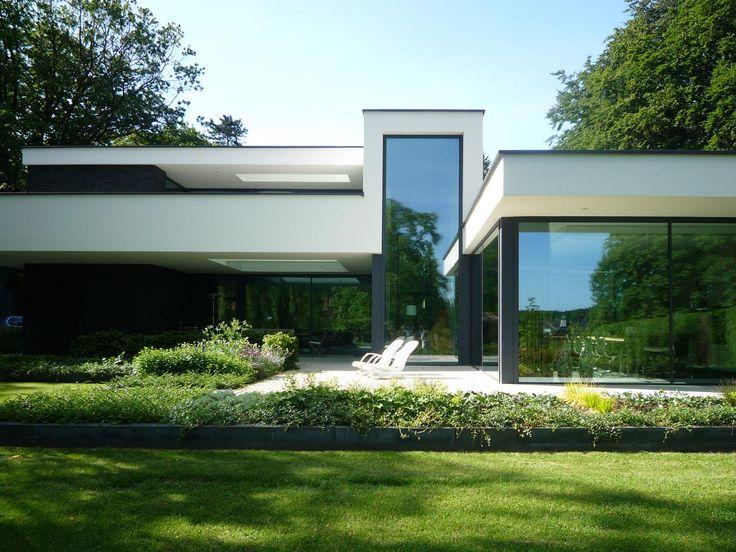 25 beste idee n over stucwerk huizen op pinterest mediterraanse huizen stucwerk huizen en - Exterieur ingang eigentijds huis ...