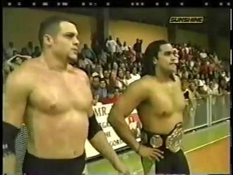 IWA: Ricky Banderas & Tex Slazenger (Dennis Knight) vs. Ray González & A...