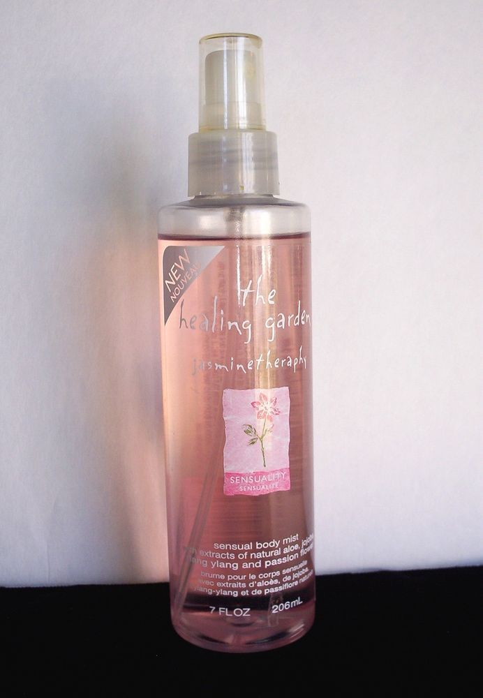 The Healing Garden Jasmine Therapy Body Mist Spray 7 Fl Oz