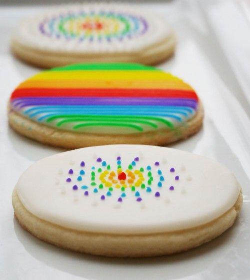 ... Sugar, Rainbows Cookies, Tasti Recipes, Decor Sugar Cookies Purple