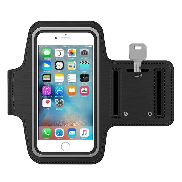 HAMAXA Running Armband Exercise Gym Sportband Scratch / Water Resistant Sports Band Workout Armand Pouch + Credit Card Key Holder For iPhone 7 6 6s Plus Samsung Galaxy Note 5 4 3 S6 S5 Jogging Hiking