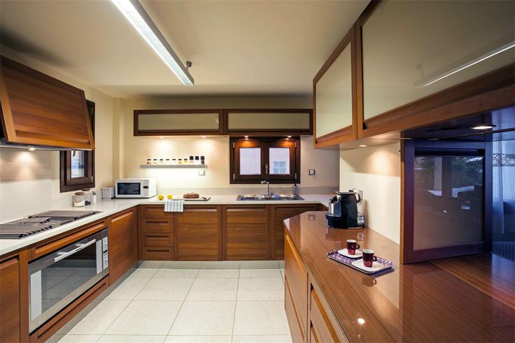On the ground floor, you can prepare lavish #meals in its spacious fully-equipped #kitchen