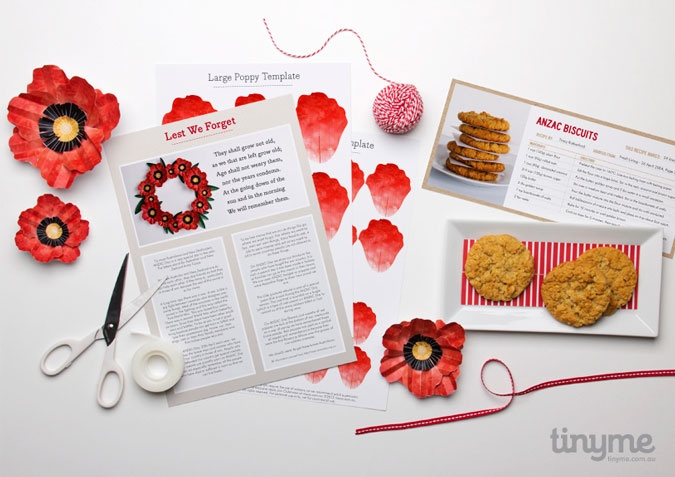 ANZAC DAY PRINTABLES