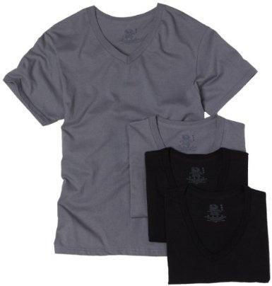 Fruit of the Loom Men's 4 pack v neck Underwear $17.50 - $19.00
