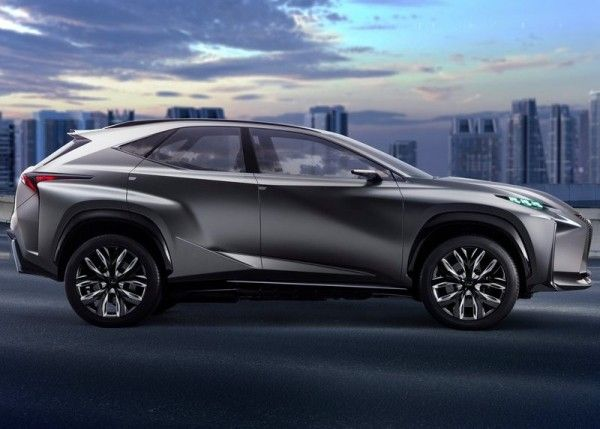 Lexus LF NX Image 600x429 2013 Lexus LF NX Concept Reviews
