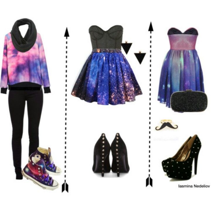 Galaxy clothes!! I'm obsessed.. Want it all!!!