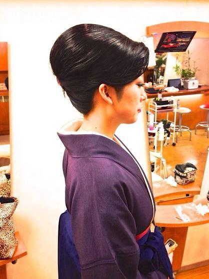 和髪で卒業式 | 中野・東中野・新中野の美容室 ALPHAのヘアスタイル | Rasysa(らしさ)