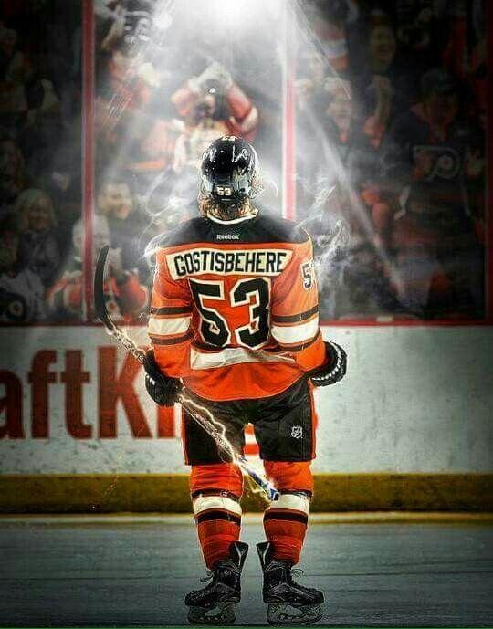 Cool pic of Shayne Gostisbehere