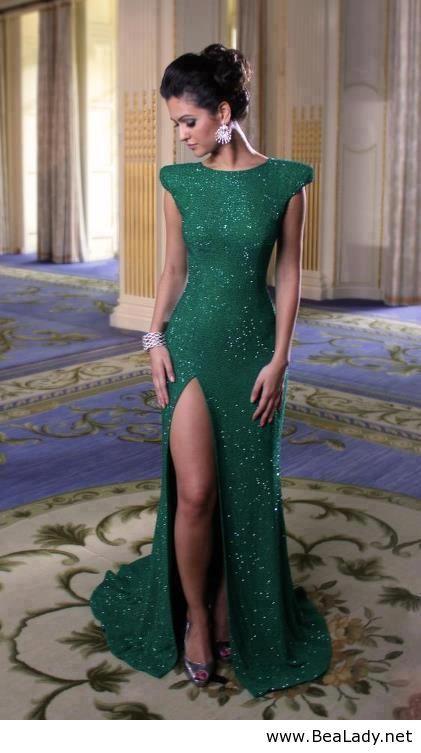 #Style | Lungo abito verde per il Capodanno -|- Green long dress for New Year