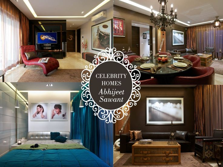 If music were the source of inspiration, find every wall of #AbhijeetSawant's cosy apartment reverberate with melody. #CelebrityHomes #BestHomes #SaturdaySwag #HomesFurnishings #Interiors #Decor #Furnishings #BollywoodSinger