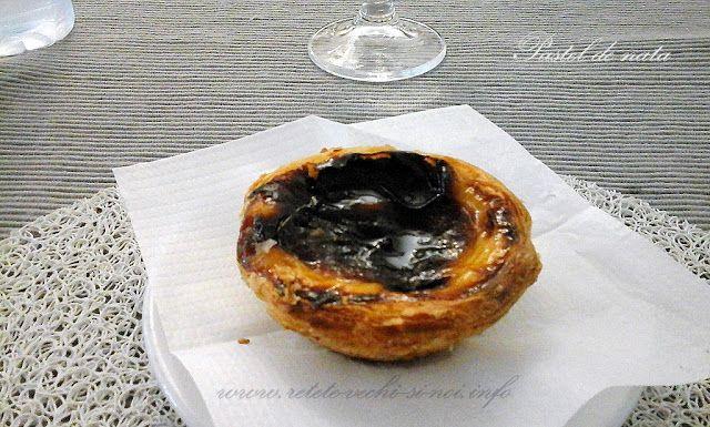 Caietul cu retete vechi si noi: Meniuri portugheze - prajitura pastel de nata