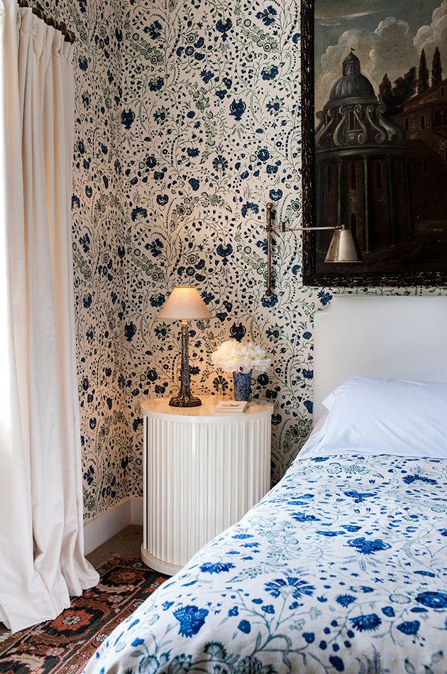 Dianthus Chintz wallpaper and fabric by Soane Britain. #DianthusChintz #SoaneBritain