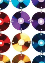 Cool CD Curtain - love how resourceful and creative this is!