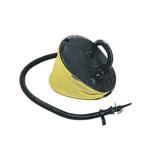 Sevylor 5Ltr Foot Pump The 5Ltr Foot Pump from Sevylor comes with universal valve fittings and is ideal for inflating and deflating your Sevylor Kayak http://www.MightGet.com/january-2017-11/sevylor-5ltr-foot-pump.asp