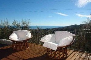 Villetta La Canoa - unsere umzäunte Ferienwohnung mit fantastischem Ausblick!  #Ferienwohnung #Ligurien #Hund #Urlaub
