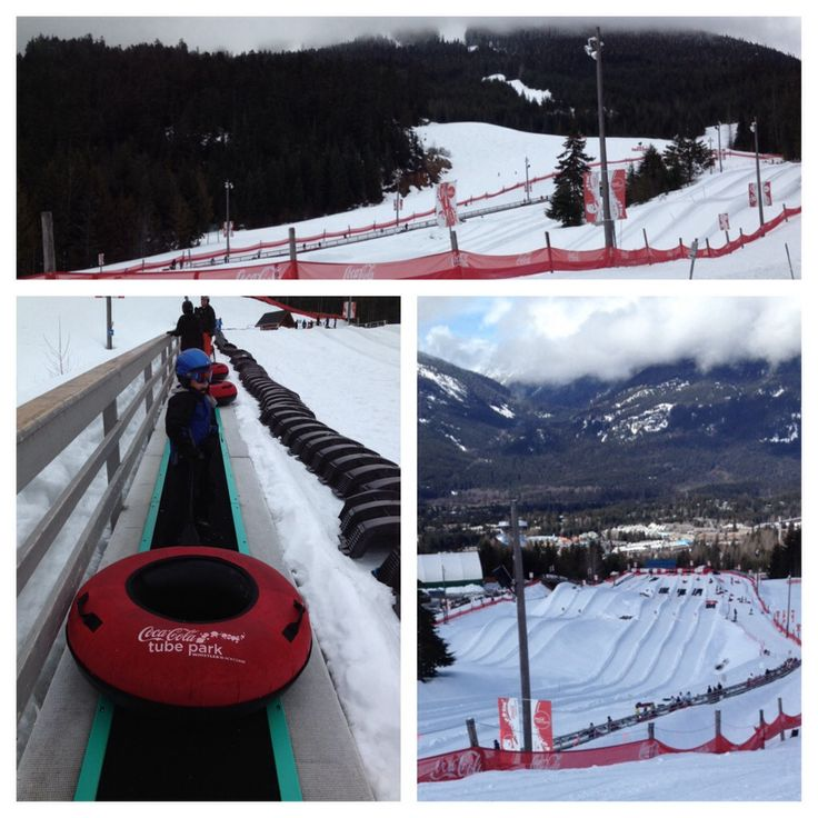 Snow tubing at Whistler Blackcomb