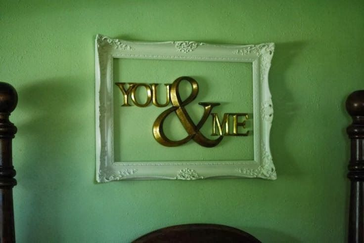 The Best DIY and Decor Place For You: Bedroom Wall Decorating Diy Romantic Frame Idea