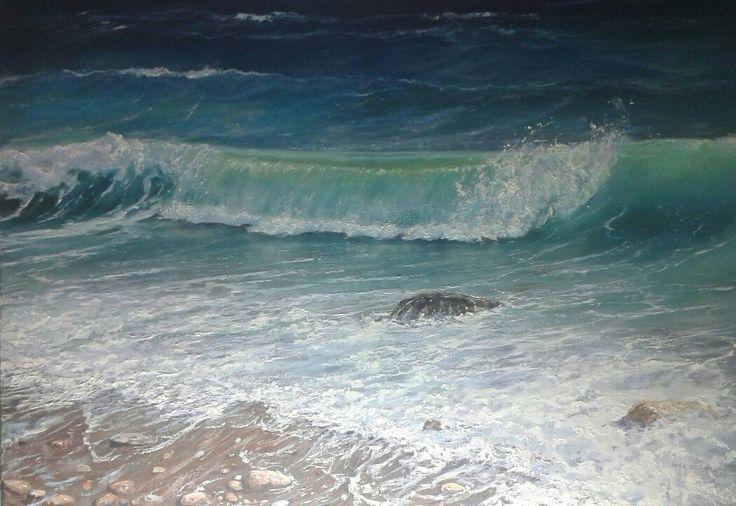 """ Wave at Lefkatha Island Dimitris Asprogiannis"