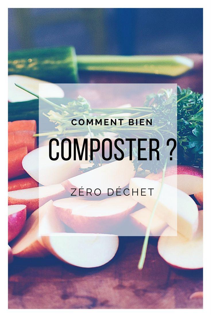 Zéro déchet: Quoi composter? Comment composter toutes les réponses aux questions que l'on se pose.