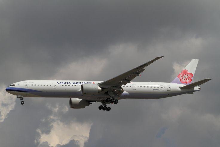 China Airlines Boeing 777-300ER B-18053 : Suvarnabhumi International Airport, Thailand - BKK.