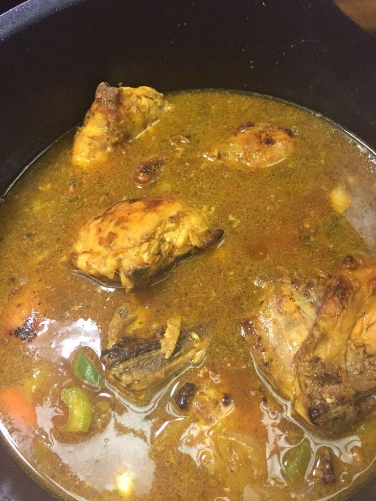 Delicious homemade chicken stew