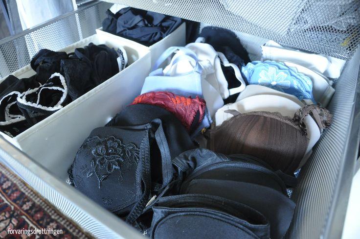 ordning och reda bland underkläder