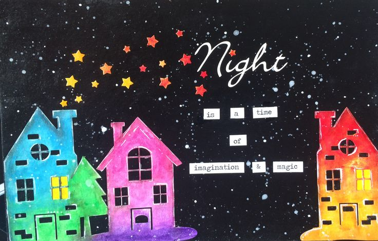 Art Journal - Night