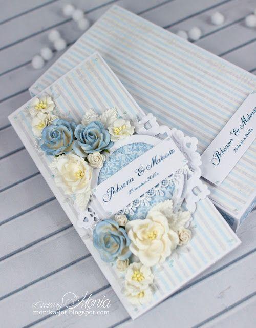 Moja papierowa kraina: Ślubna na niebiesko
